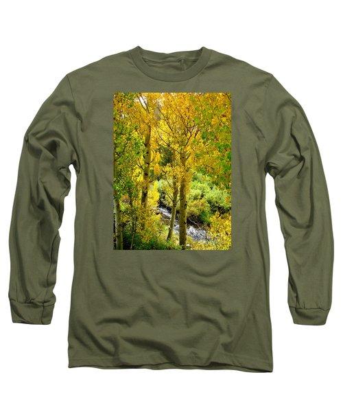Creekside Long Sleeve T-Shirt by Marilyn Diaz