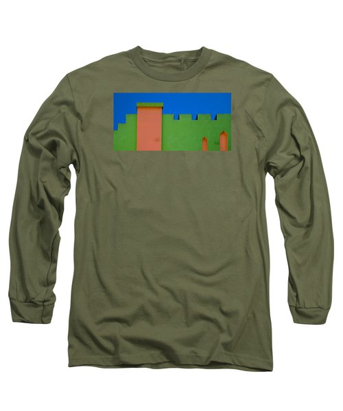 Crenellated Roof Long Sleeve T-Shirt