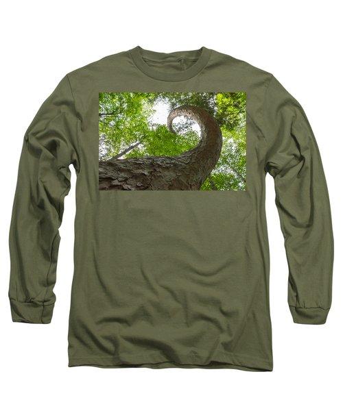 Crooked Spine Pine II Long Sleeve T-Shirt