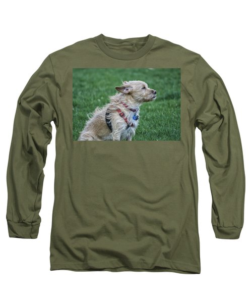 Long Sleeve T-Shirt featuring the photograph Cruz Enjoying A Warm Gentle Breeze by Thomas Woolworth