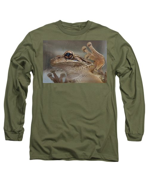 Cuban Treefrog Long Sleeve T-Shirt by Paul Rebmann