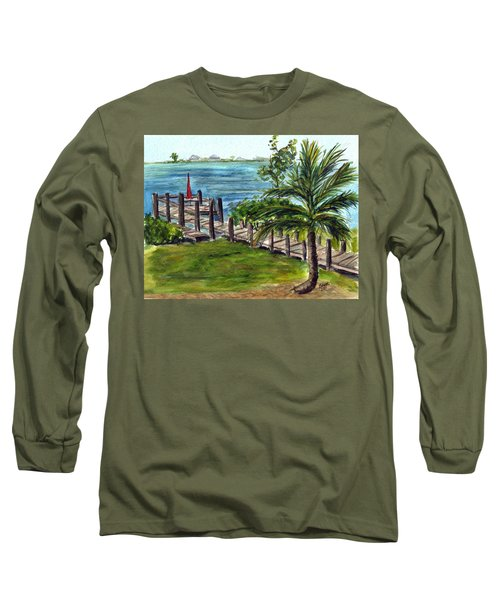 Cudjoe Dock Long Sleeve T-Shirt