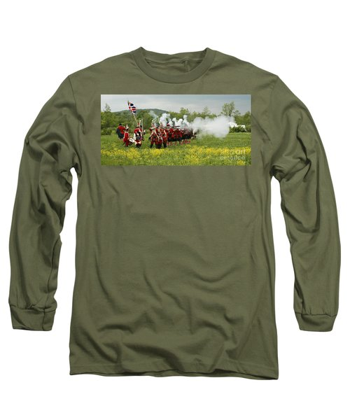 Culloden Loyalists Long Sleeve T-Shirt by Carol Lynn Coronios