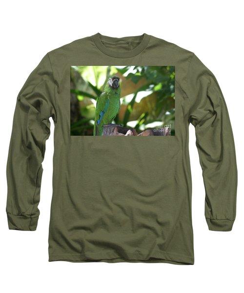 Curacao Parrot Long Sleeve T-Shirt