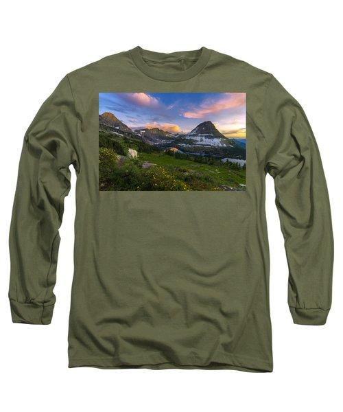 Curious Goat Long Sleeve T-Shirt by Dustin  LeFevre