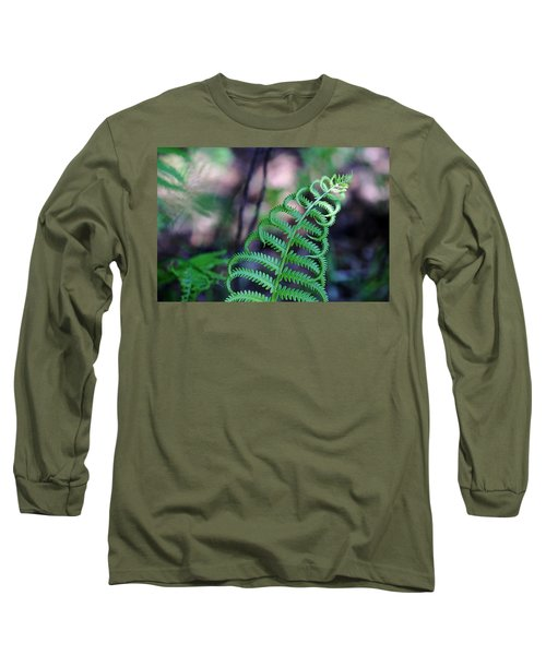 Long Sleeve T-Shirt featuring the photograph Curls by Debbie Oppermann