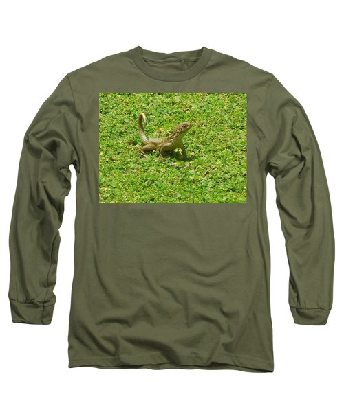 Curly-tailed Lizard Long Sleeve T-Shirt