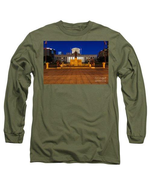 D13l112 Ohio Statehouse Photo Long Sleeve T-Shirt