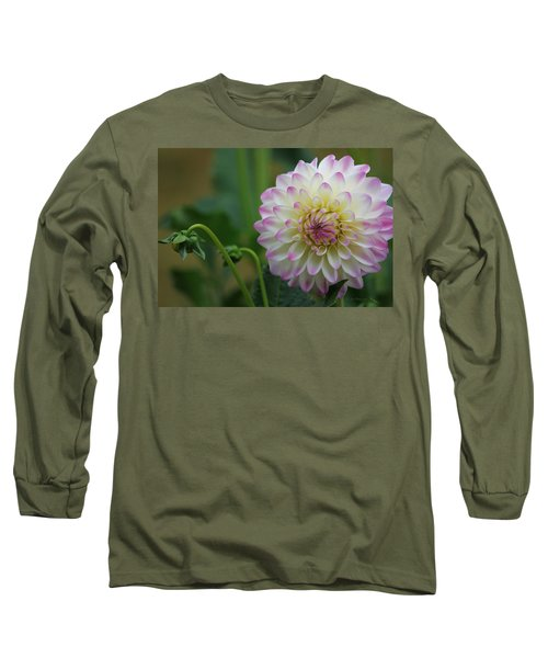 Dahlia In The Mist Long Sleeve T-Shirt