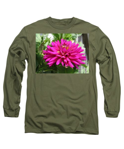 Dahlia Named Andreas Dahl Long Sleeve T-Shirt by J McCombie