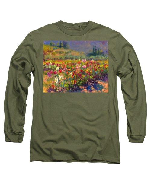 Dahlia Row Long Sleeve T-Shirt