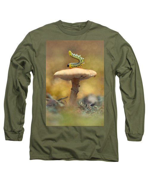 Long Sleeve T-Shirt featuring the photograph Daily Excercice by Jaroslaw Blaminsky