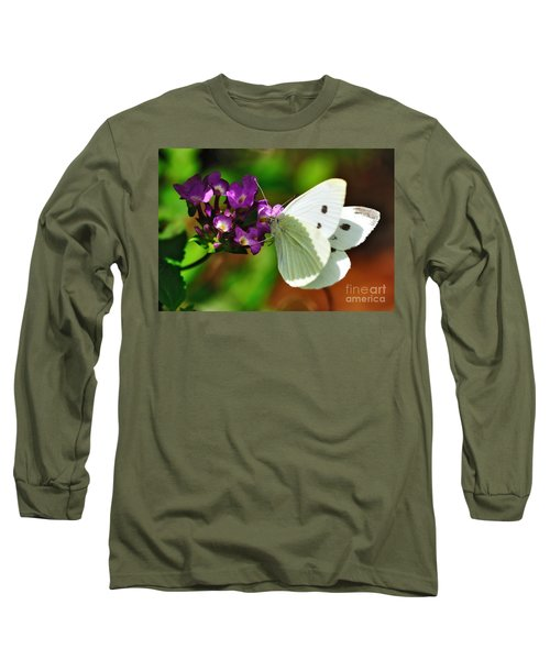 Dainty Butterfly Long Sleeve T-Shirt