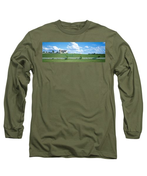 Dairy Farm Janesville, Wisconsin, Usa Long Sleeve T-Shirt
