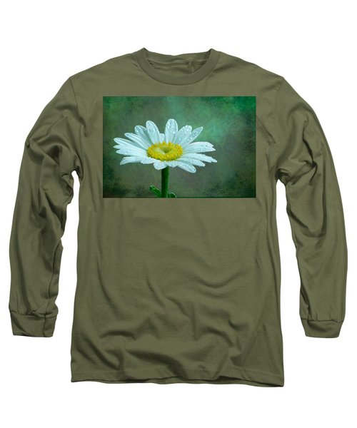 Daisy In The Rain Long Sleeve T-Shirt