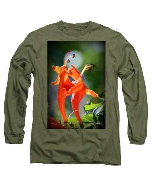 Long Sleeve T-Shirt featuring the photograph Dancing In The Moonlight by Debra Martz