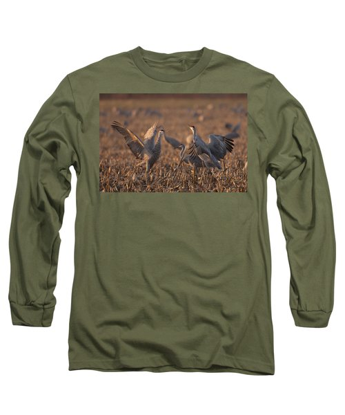 Dancing Sandhills Long Sleeve T-Shirt