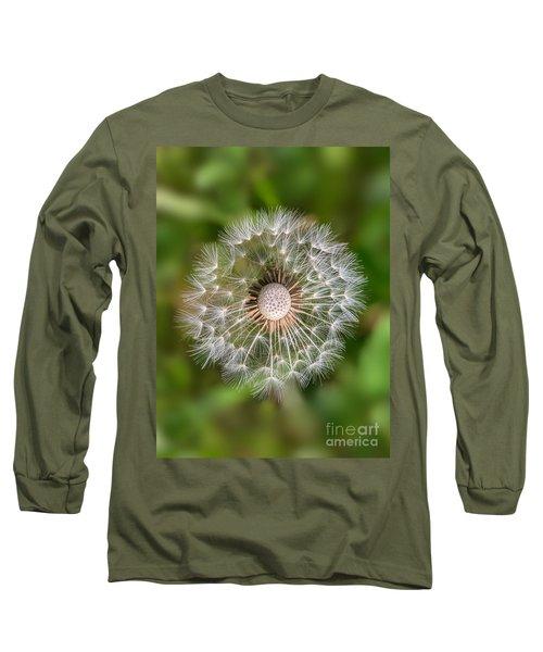 Long Sleeve T-Shirt featuring the photograph Dandelion by Carsten Reisinger