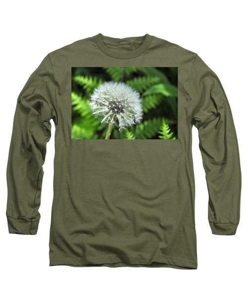Dandelion Long Sleeve T-Shirt by Jim Brage