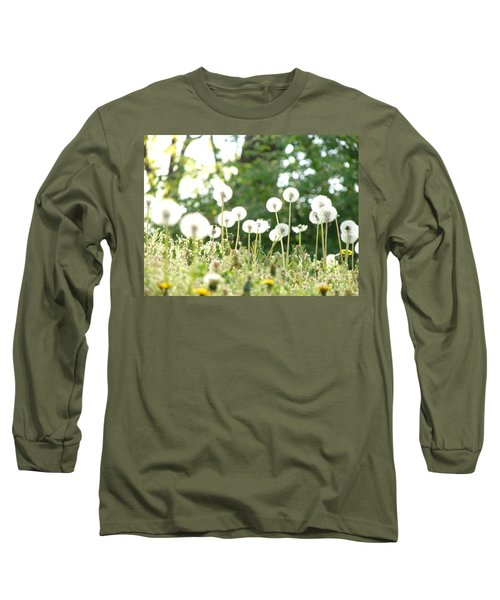 Dandelions Long Sleeve T-Shirt