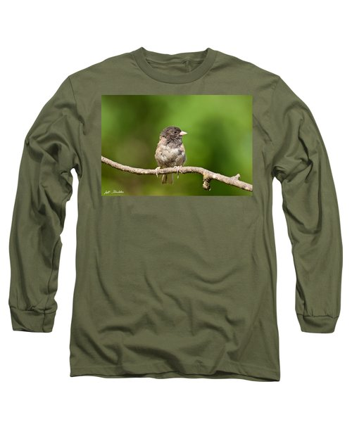 Dark Eyed Junco Long Sleeve T-Shirt