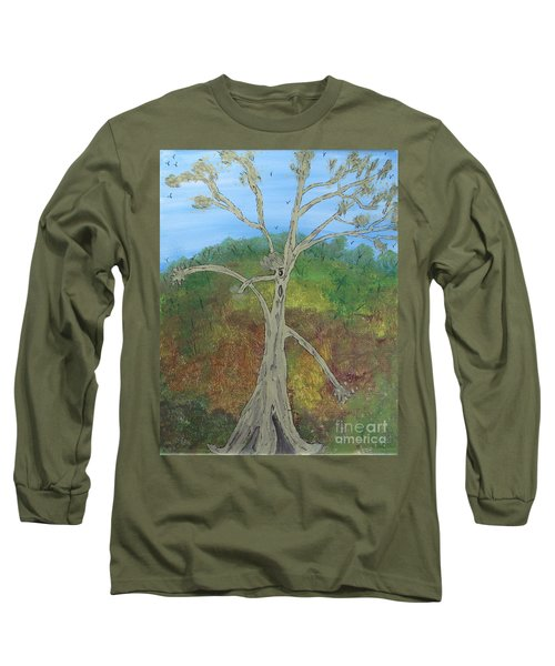 Dash The Running Tree Long Sleeve T-Shirt