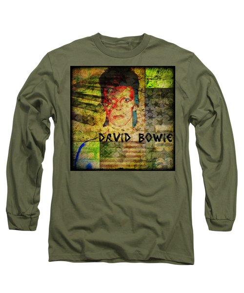 David Bowie Long Sleeve T-Shirt