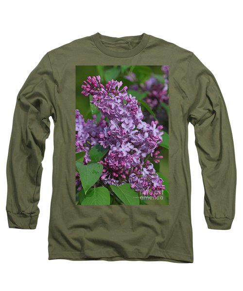 Dawns Lilacs Long Sleeve T-Shirt