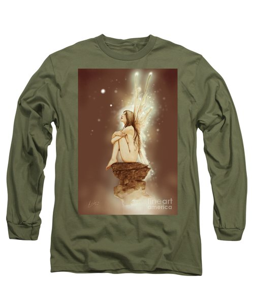 Daydreaming Faerie Long Sleeve T-Shirt