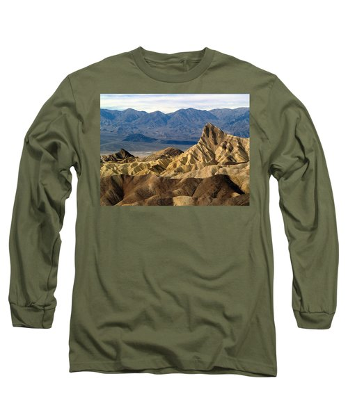 Death Valley Np Zabriskie Point 11 Long Sleeve T-Shirt
