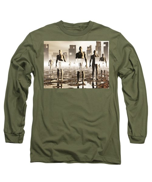 Deconstruction Long Sleeve T-Shirt