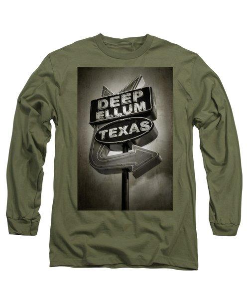 Deep Ellum Long Sleeve T-Shirt by Joan Carroll