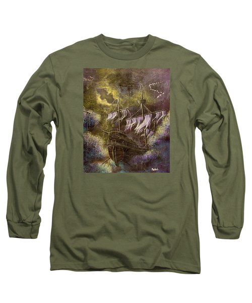 Deep Peace Long Sleeve T-Shirt