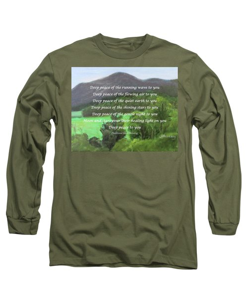 Deep Peace With Ct River Valley Long Sleeve T-Shirt