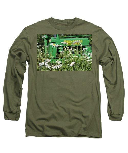Deere 1 Long Sleeve T-Shirt by Lynn Sprowl