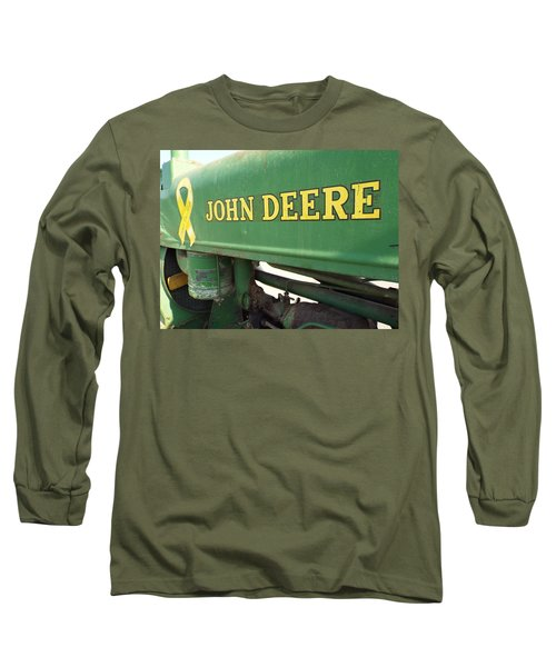 Deere Support Long Sleeve T-Shirt by Caryl J Bohn