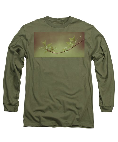 Delicate Leaves Long Sleeve T-Shirt