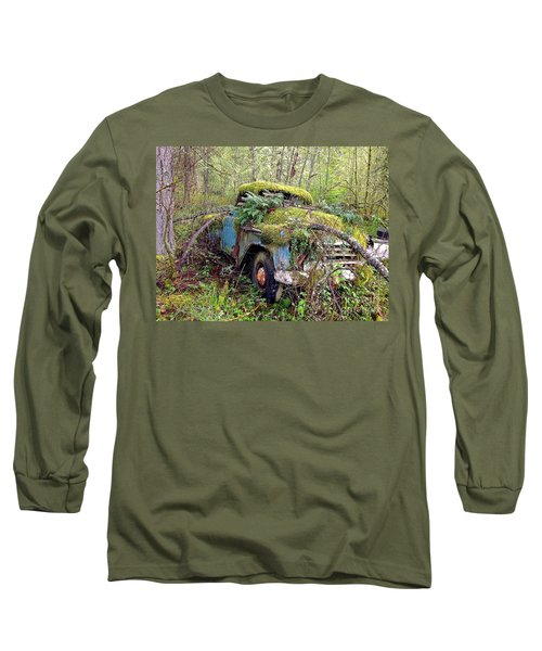 Long Sleeve T-Shirt featuring the photograph Derelict by Sean Griffin