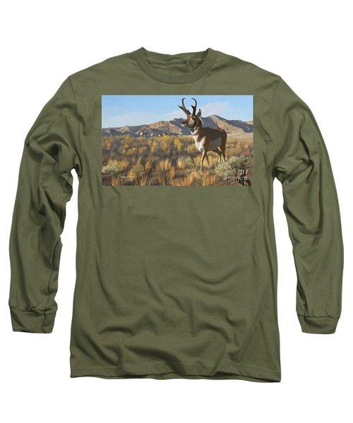 Desert Buck Long Sleeve T-Shirt