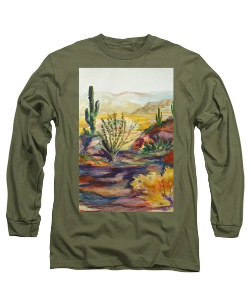 Desert Color Long Sleeve T-Shirt