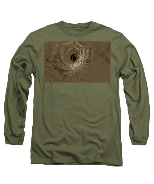 Desert Etching Long Sleeve T-Shirt by GJ Blackman