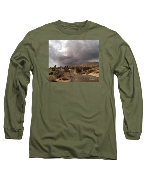 Desert Storm Come'n Long Sleeve T-Shirt by Angela J Wright