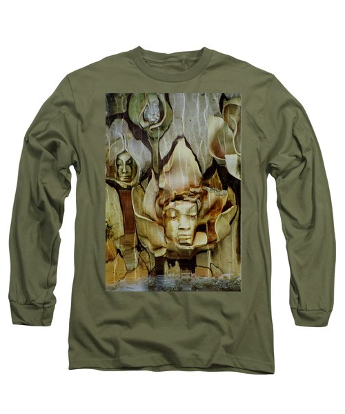 Distortion Long Sleeve T-Shirt by Penny Lisowski