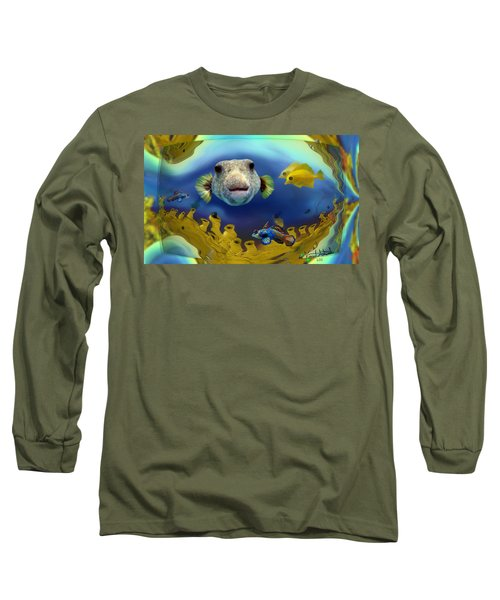 Diver's Perspective Long Sleeve T-Shirt
