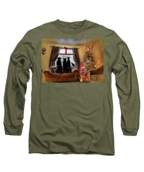 Do You Hear What I Hear Long Sleeve T-Shirt by Lori Deiter