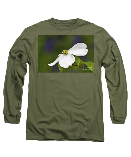 Dogwood Blossom - D001797 Long Sleeve T-Shirt