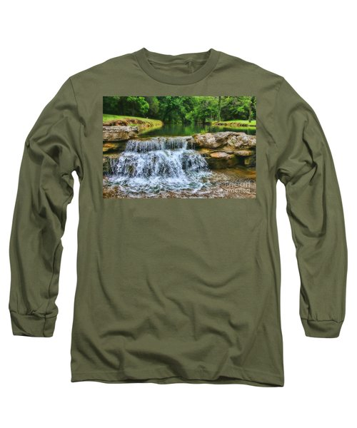 Dogwood Canyon Falls Long Sleeve T-Shirt