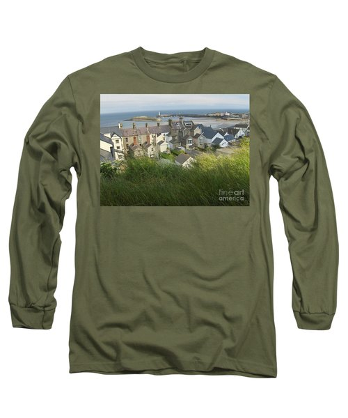 Donaghadee Northern Ireland View From The Moat Long Sleeve T-Shirt