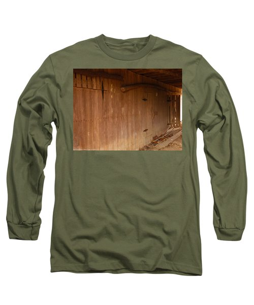 Long Sleeve T-Shirt featuring the photograph Doors To The Past by Nick Kirby