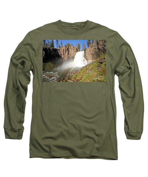 Double Rainbow Falls Long Sleeve T-Shirt